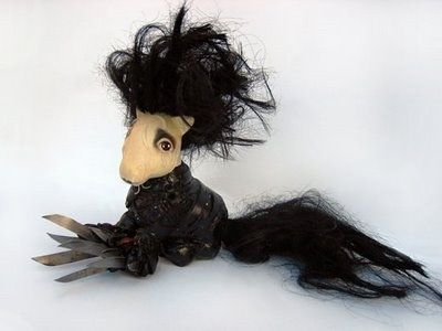 someone better be getting me a My Little Scissorhands Pony for Christmas this year.