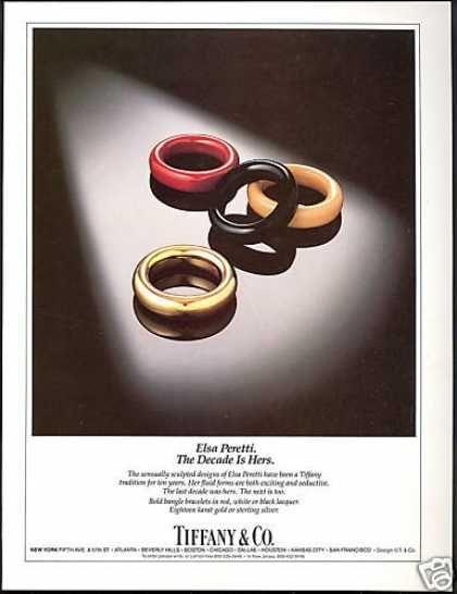 Elsa Peretti Bracelets Photo Tiffany & Co (1984)