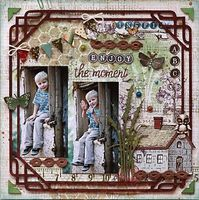 A Project by Svetlana Austin from our Scrapbooking Gallery originally submitted 04/17/13 at 05:58 AM