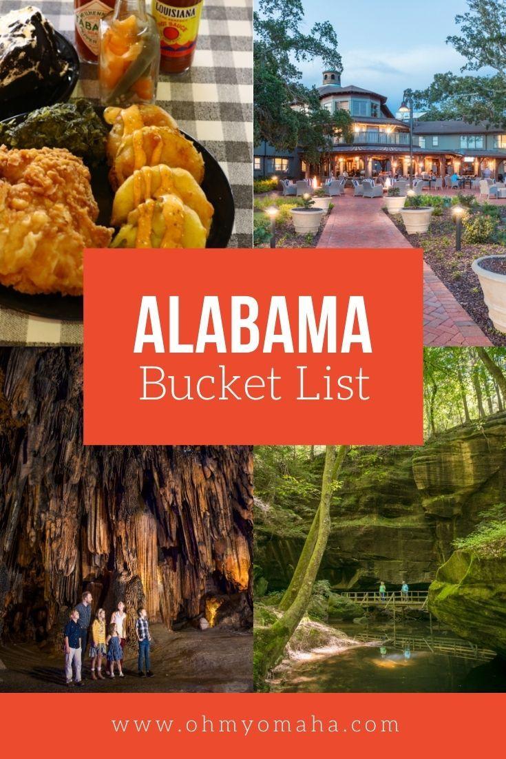 My Alabama Bucket List Oh My Omaha In 2020 Alabama Bucket List Ultimate Bucket List