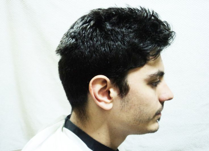 Before the cut - Right side. Modelo: Matias.