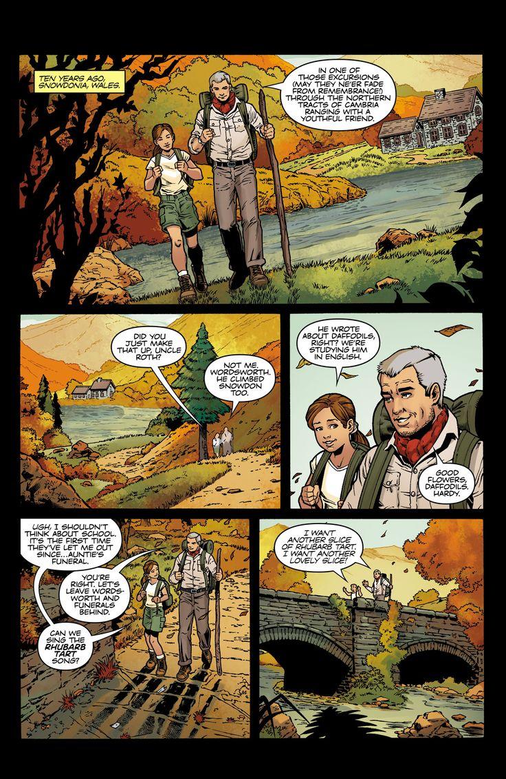 Dark Horse - Tomb Raider #7 page 1 (1332×2048)