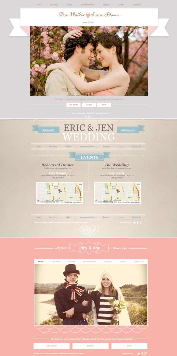 15 best images about wedding website ideas on Pinterest