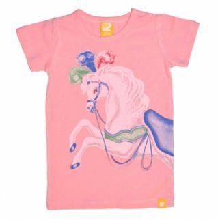 Rock Your Baby Prancing Horse Short Sleeve Tee
