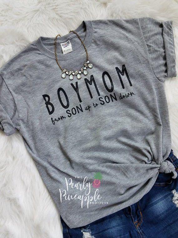 50142a84da706 Boymom shirt-boy mom shirt-from son up to son down-mom life shirt ...