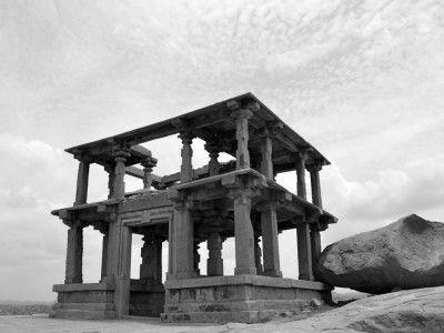 Gates to the city, Hampi, Karnataka, India #India #Kamalan #travel #culture #photo