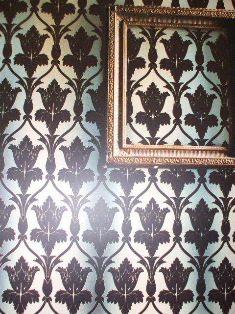 17 Best Ideas About Flock Wallpaper On Pinterest Velvet Wallpaper Gothic Wallpaper And Gothic