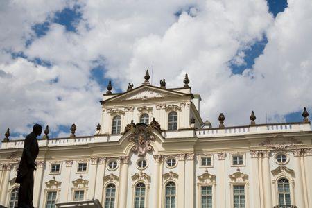 Archbishop's Palace at Prague Castle, Czech Republic