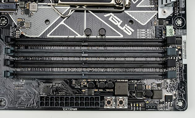ASUS Prime Z370-A comes with Four DDR4 DIMM slots