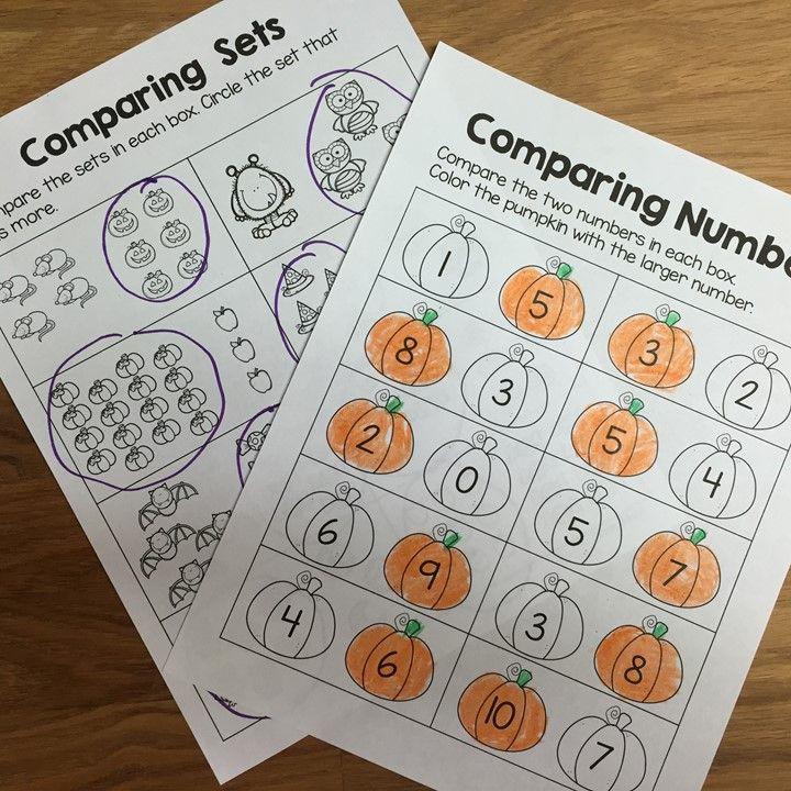60 best Kinder: Math Comparing Numbers images on Pinterest ...