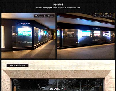 """Check out new work on my @Behance portfolio: """"LG Oled TV Window Display at John Lewis stores"""" http://be.net/gallery/40958567/LG-Oled-TV-Window-Display-at-John-Lewis-stores"""