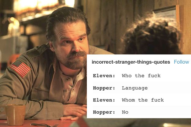 """Just 16 Really Funny Tumblr Posts About """"Stranger Things 2"""""""