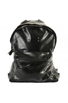 AB A Brand Apart | Leather Pegaso Backpack Matte Black | Buy AB A Brand Apart Online at Hervia.com