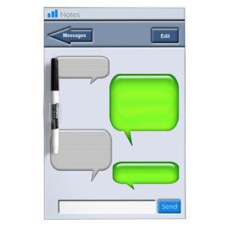 cell phone text message novelty dry erase whiteboard dry erase magnet boards pinterest. Black Bedroom Furniture Sets. Home Design Ideas