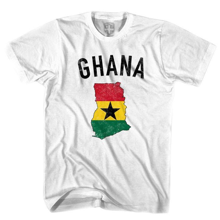 Ghana Flag & Country T-shirt