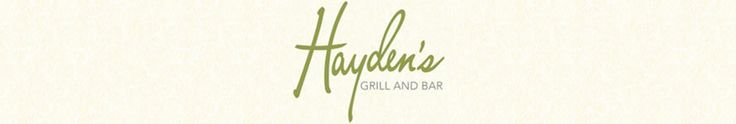 Ann Arbor Restaurants | Detroit Restaurants | Hayden's