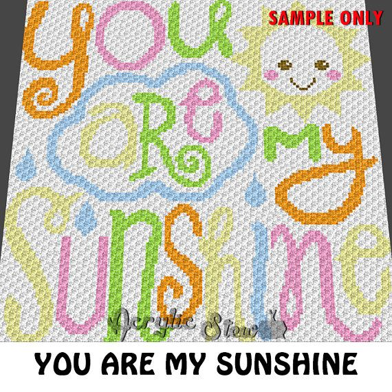 Free Crochet Pattern For You Are My Sunshine Blanket : Best 25+ C2c crochet blanket ideas on Pinterest