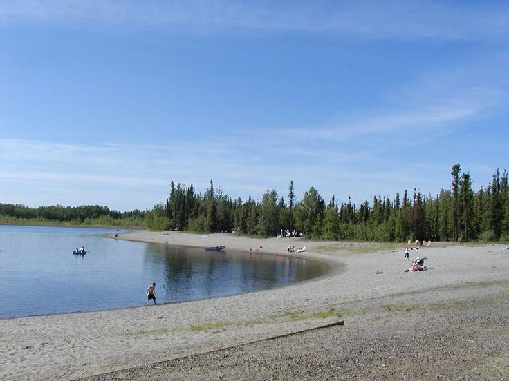 Chena lakes near fairbanks alaska it can get hot here for Fishing in fairbanks alaska