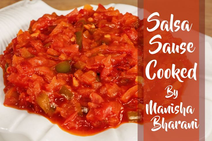 Salsa Sauce Cooked  - Quick & Easy Homemade Salsa Sauce - Mexican Best S...