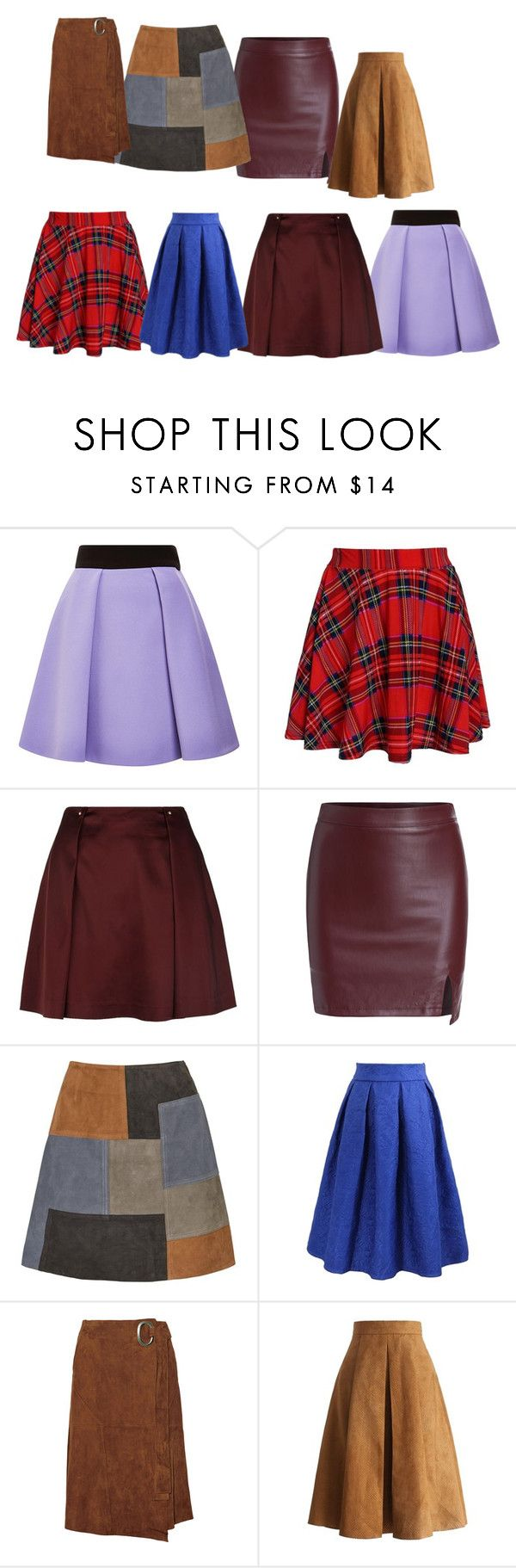 """""""юбки"""" by artemia-13 on Polyvore featuring мода, FAUSTO PUGLISI, Reiss, MiH и Chicwish"""