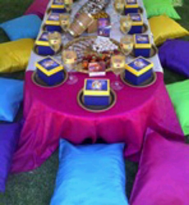 Aladdin/ Arabian party