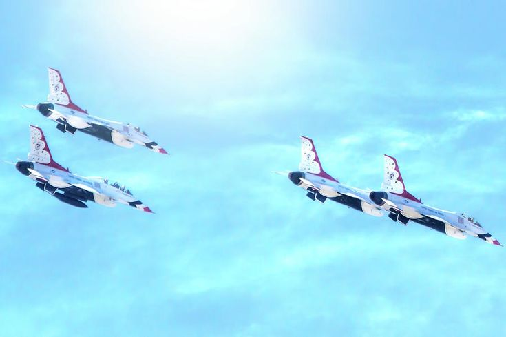 Usaf Air Force Thunderbirds Photograph by Mark Andrew Thomas