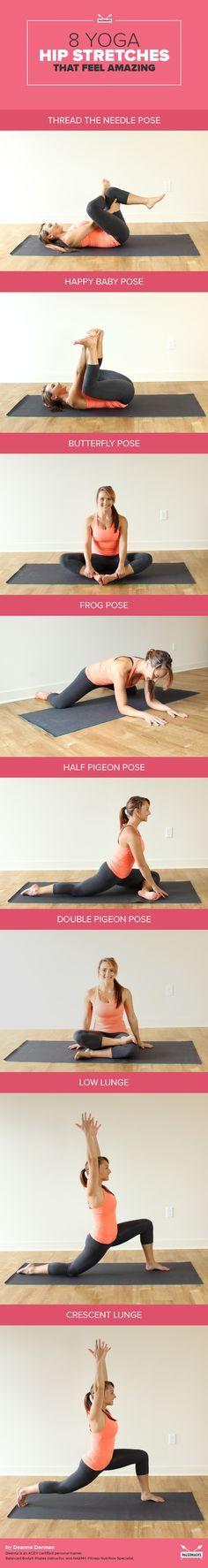 8 Yoga Hip Stretches That Feel Amazing