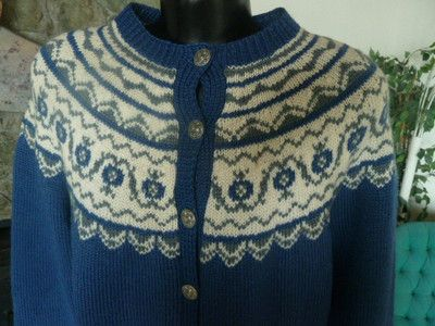 Label: Handknitted O Allers AB Bergen Norway