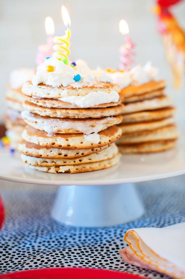 Birthdays call for pancakes as cute as these