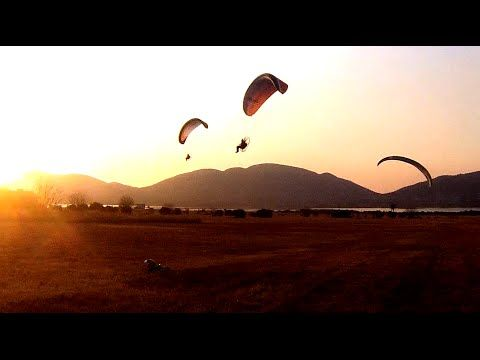 Powered Paragliding Paradise - South Africa 2 - YouTube