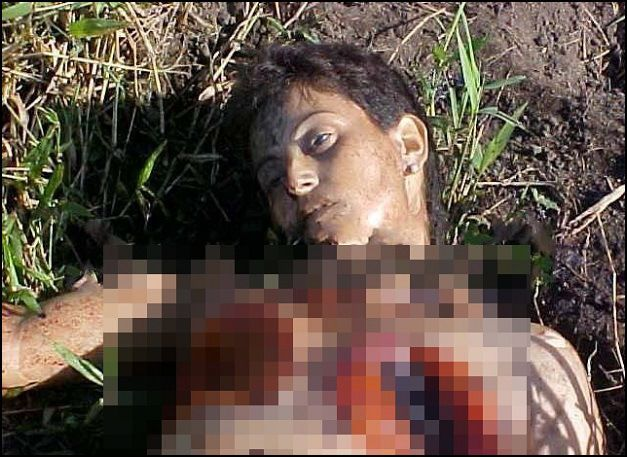 Christian Girl Sliced off Breasts