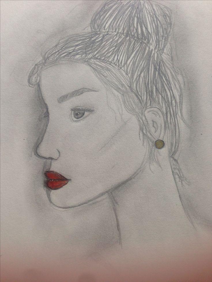 Red lips ~Ellie bean