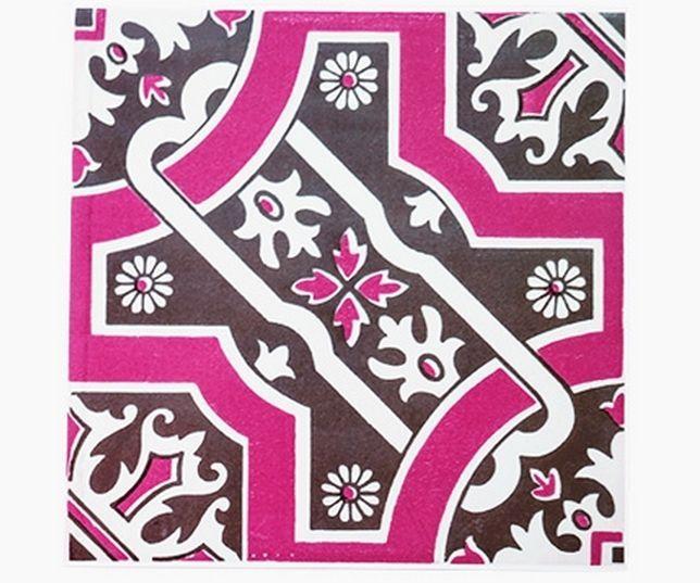 Decolfa Tile Sticker (Pink) For DIY Decorate Home Design Art Kitchen Room Sink