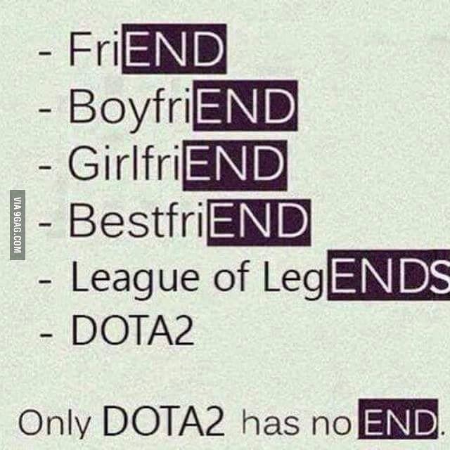 DOTA Never End!