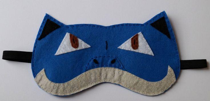 Blastoise pokemon handmade blindfold by TosTosia