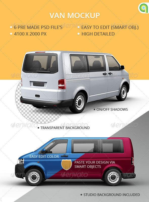30 Free Psd Realistic High Quality Car Vehicle Mockups For Advertisement Free Psd Templates Cool Vans Van Branding