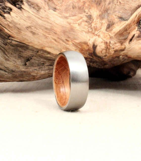This Jack Daniels whiskey barrel ring.   26 Essentials Every Whiskey Lover Should Own