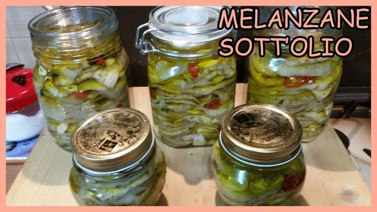 Melanzane sott'olio - Come mantenere le melanzane bianche - Le Ricette d...
