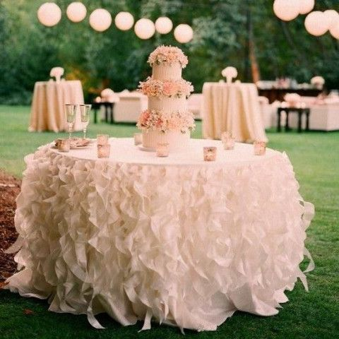 Curly Willow Tablecloth Different Colors Available