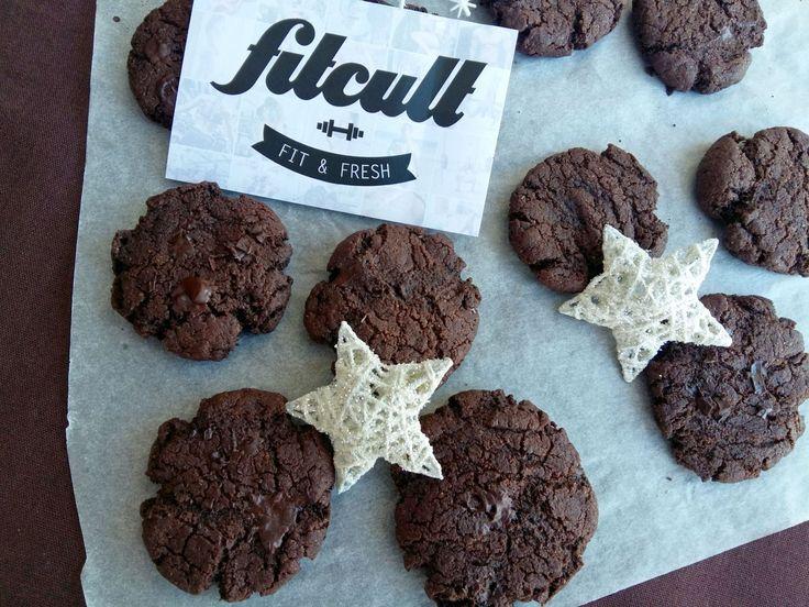 Vláčné čokoládové sušenky (ze špaldové mouky)