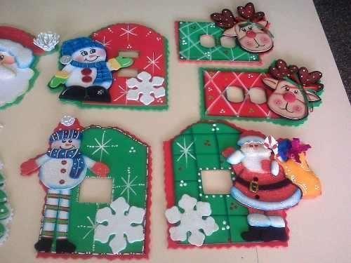 Resultado de imagen para figuras de navidad en foami