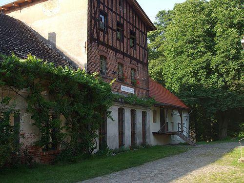 Old watermill (Barlinek, Poland).