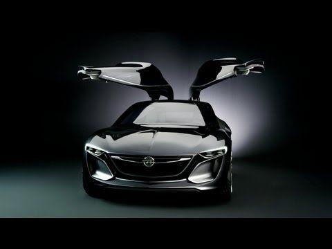 ▶ New Opel Monza Concept opens its doors - YouTube