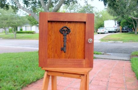 Key Locker a.k.a. Small Jewelry Armoire | Do It Yourself Home Projects from Ana White