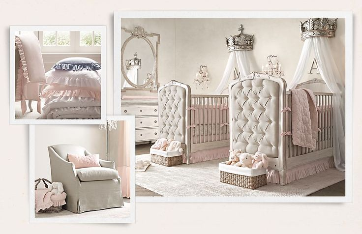 Rooms   Restoration Hardware Baby & Child. Inspirations for a juicy couture nursery
