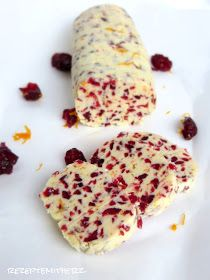 Rezepte mit Herz ♥: Weihnachtsbutter - XMAS Butter mit Cranberries