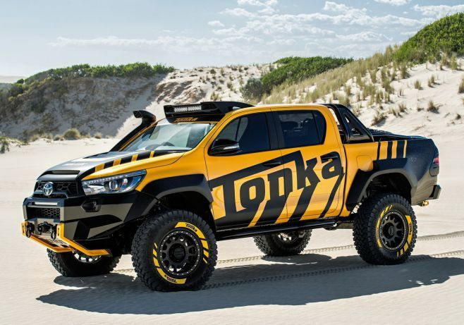 The new 2017 Toyota Tonka Concept is powered by 2.8-liter turbo diesel four-cylinder engine...2017 Toyota Hilux Tonka concept Price...  #2017ToyotaHiluxTonkaconcept