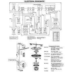 MAYTAG Maytag Dishwasher  Wiring information Parts