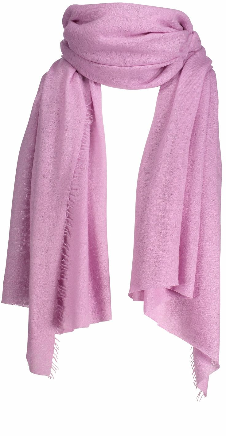 Helsinki scarf, 70x195cm, mauve mist
