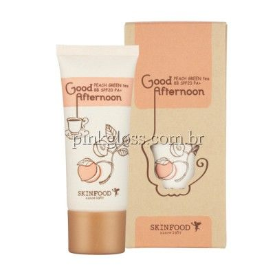 BB cream skin food - peach green tea - beige 1